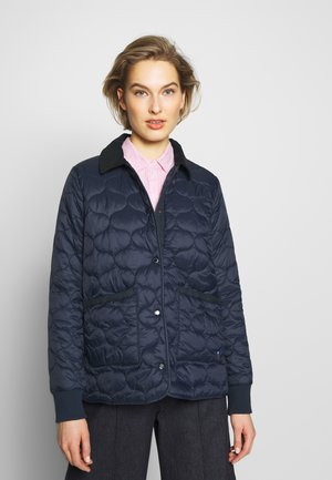 BARBOUR HALLIE - Lehká bunda - navy