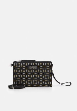 EYELETS EXTREME MEDIUM POUCH - Across body bag - nero