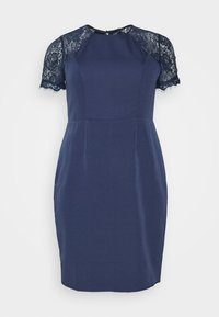 Chi Chi London Curvy - ARMILLA DRESS - Robe de soirée - navy - 4