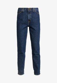 Lee - TAILORED MOM - Straight leg jeans - dark worn - 4