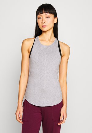 RACER TANK - Top - grey melange