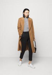 Lauren Ralph Lauren - 70S NON STRETCH - Button-down blouse - black/white - 1
