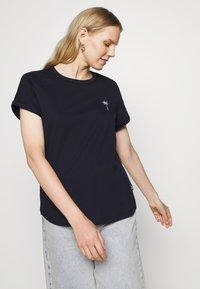 Marc O'Polo DENIM - Print T-shirt - scandinavian blue - 3
