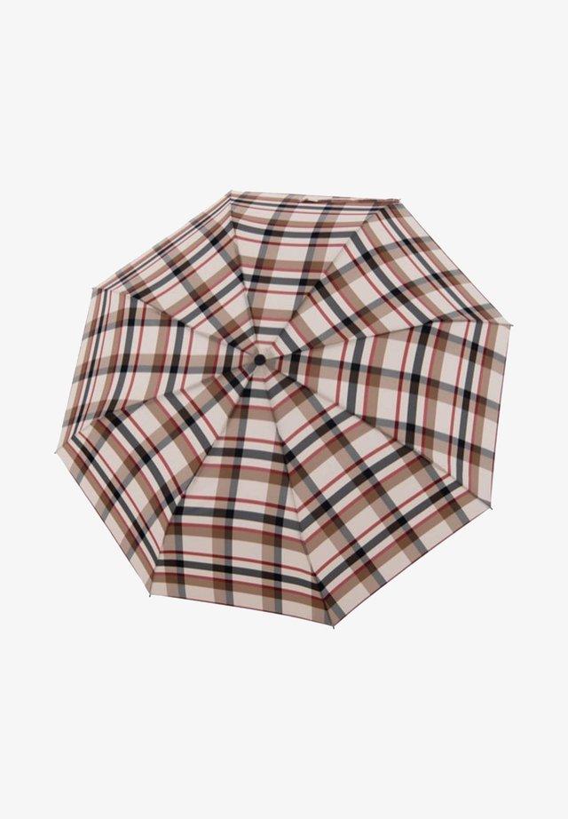 Umbrella - magic karo beige