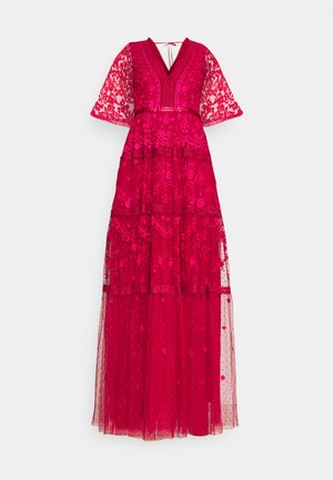 LOTTIE GOWN - Occasion wear - deep red