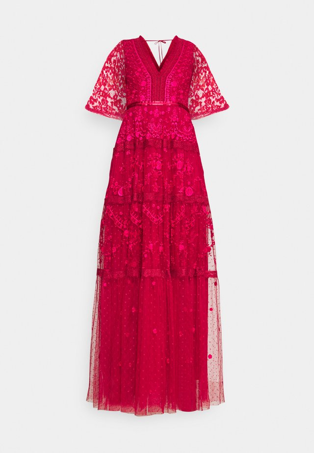 LOTTIE GOWN - Ballkleid - deep red
