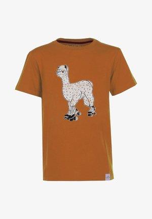 ALPAKA - Print T-shirt - rust