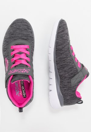 SKECH APPEAL 3.0 - Trainers - black/charcoal/hot pink