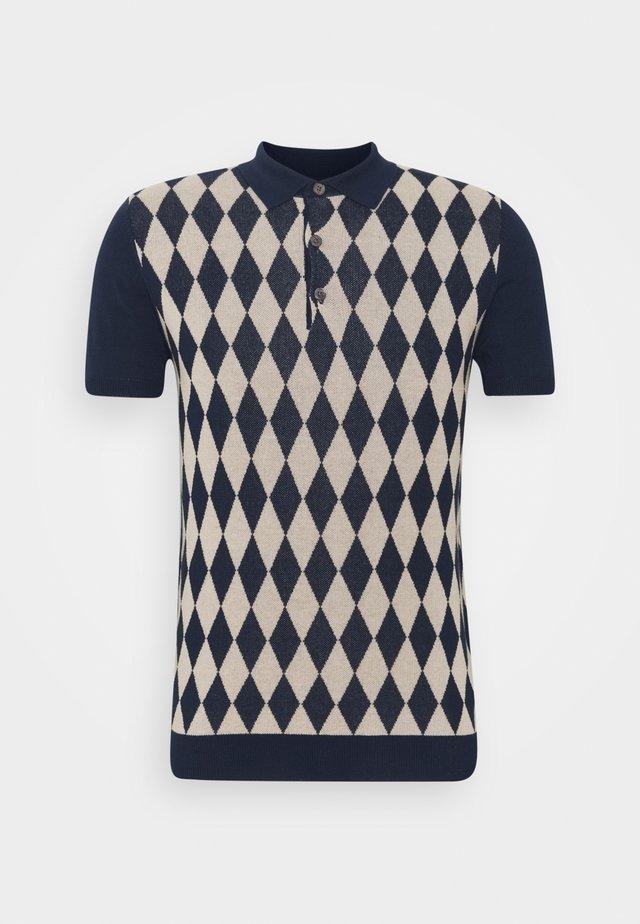 Poloskjorter - deep blue