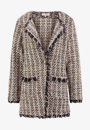 TWENDY - Short coat - soft camel