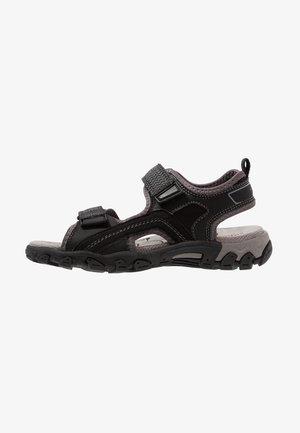 HIKE - Sandals - schwarz