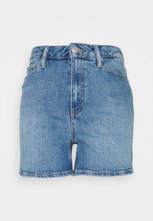 ROME STRAIGHT - Denim shorts - stone blue denim
