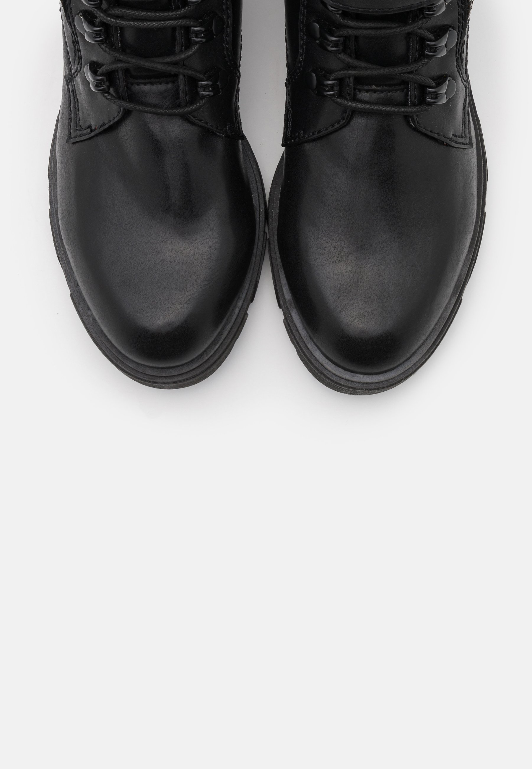 S.oliver Schnürstiefelette - Black/schwarz