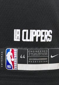 Nike Performance - NBA LOS ANGELES CLIPPERS KAWHI LEONARD CITY EDITION SWINGMAN - Article de supporter - black/white - 5