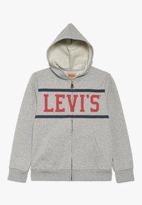 Levi's® - WAISTCOAT - veste en sweat zippée - gris chine - 0