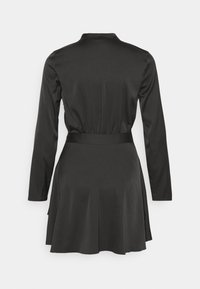 Nly by Nelly - BELTED WRAP DRESS - Cocktail dress / Party dress - black - 7
