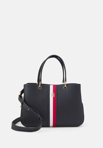 ESSENCE SATCHEL - Handbag - blue