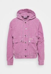 BDG Urban Outfitters - HOODED JACKET - Light jacket - pink - 0