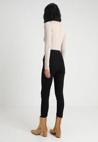 Dorothy Perkins Tall - LYLA - Jeans Skinny Fit - black - 2
