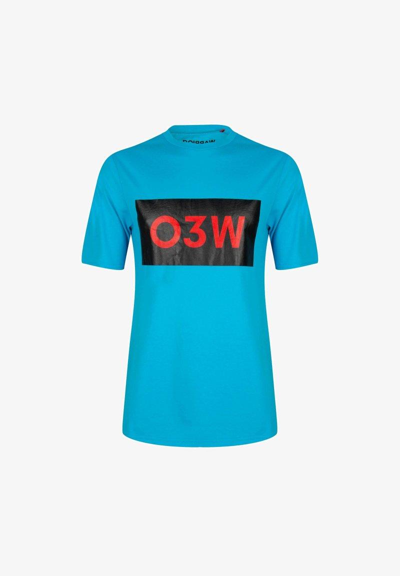 ONCE WE WERE WARRIORS - Print T-shirt - blau