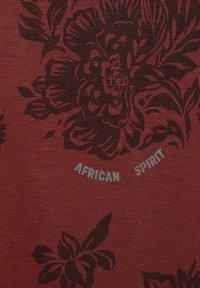 Cecil - Print T-shirt - braun - 4