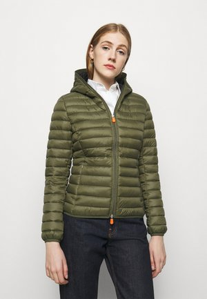GIGA DAISY HOODED JACKET - Light jacket - dusty olive