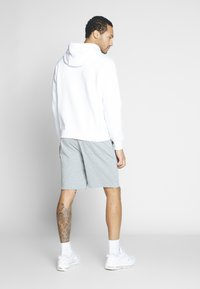 Nike Sportswear - CLUB - Shorts - dark grey heather/white - 2