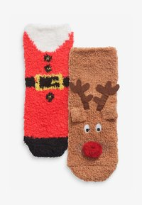Next - 2 PACK COSY CHRISTMAS - Socks - multi-coloured - 0