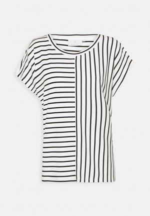 JO LIDDY - T-shirt con stampa - chalk/black
