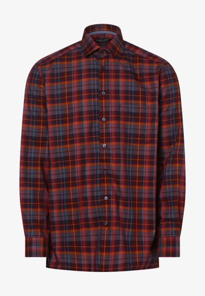 Shirt - bordeaux blau