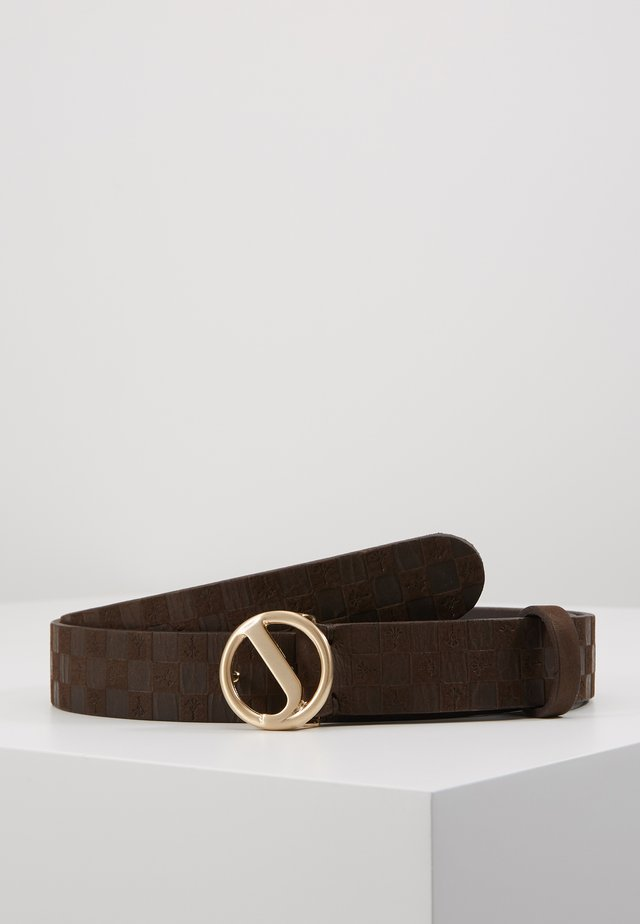 CIRCLE LOGO - Pásek - brown