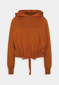ONLY - ONLNILLA LIFE BOXY  - Hoodie - umber - 0