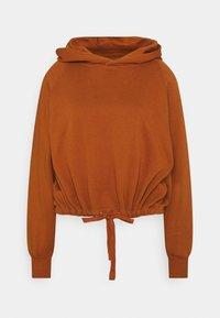 ONLNILLA LIFE BOXY  - Bluza z kapturem - umber