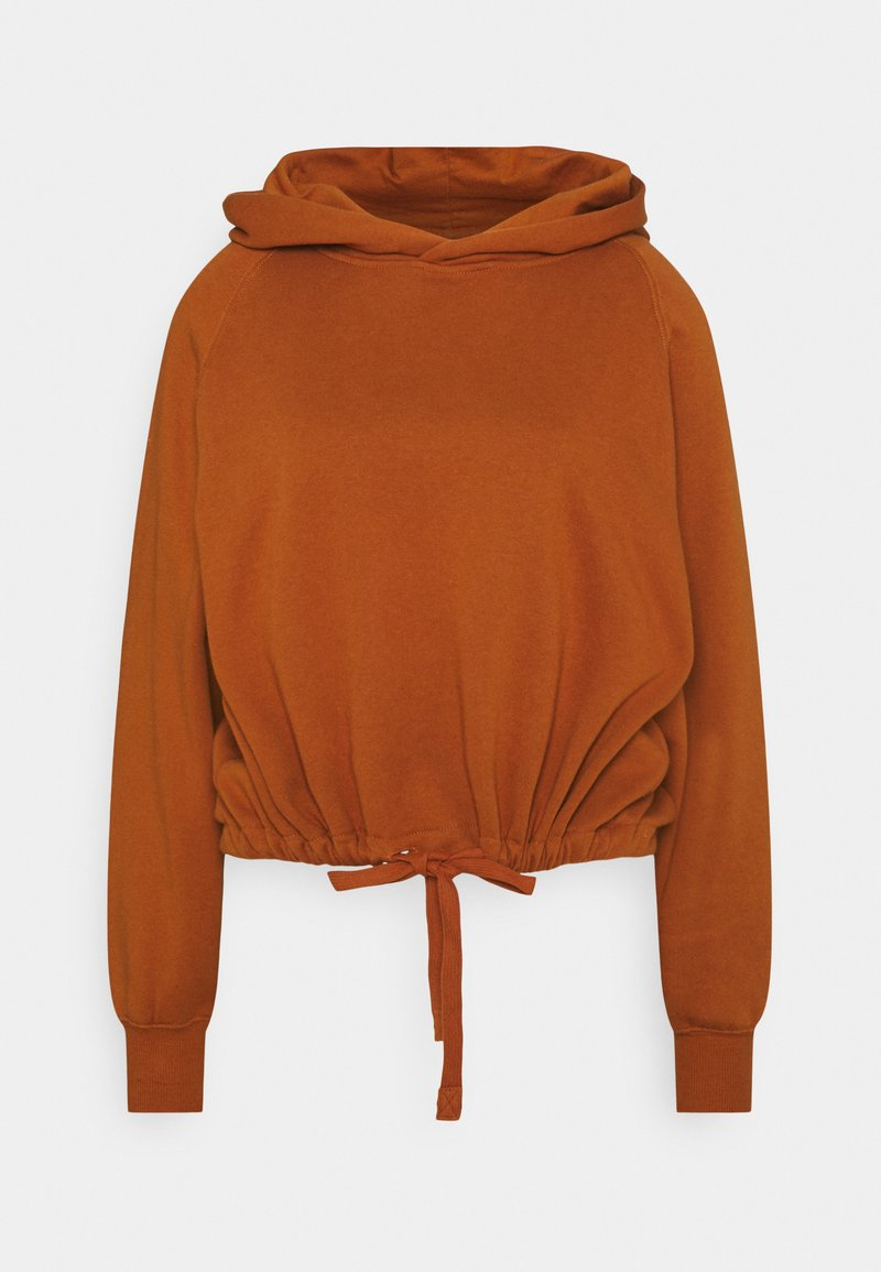 ONLY - ONLNILLA LIFE BOXY  - Hoodie - umber