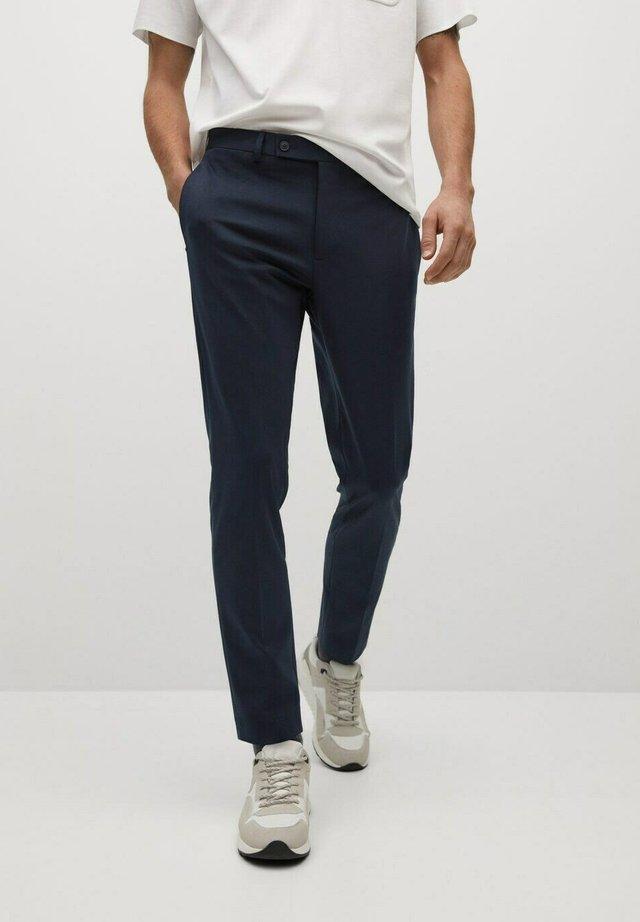 FABRE - Chino kalhoty - dunkles marineblau