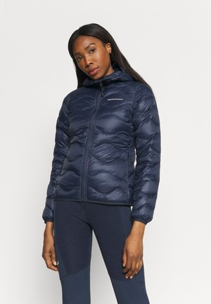 HELIUM HOOD JACKET - Doudoune - blue shadow