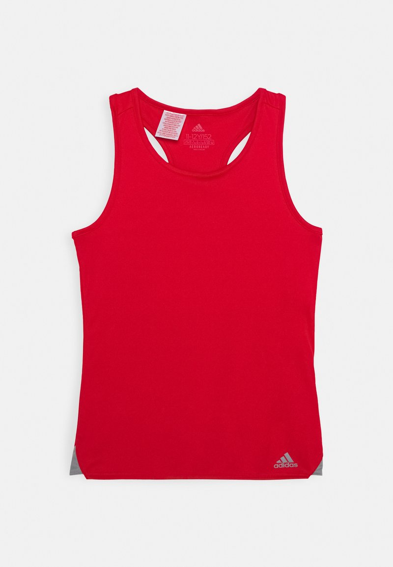 adidas Performance - CLUB TANK - Funkční triko - scarlett