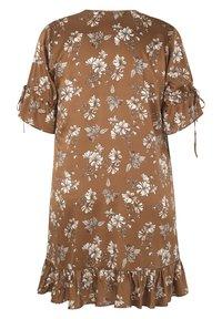 INAN ISIK - Day dress - braun - 3