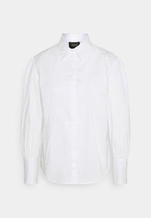 CAMICIA - Button-down blouse - bianco ottico