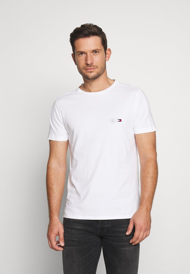 TOMMY X MERCEDES-BENZ - T-shirt basic - white