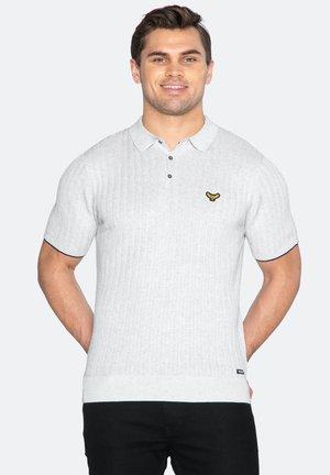 VIVE - Polo shirt - silver grey marl
