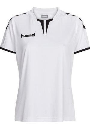 CORE SS - Print T-shirt - white pr