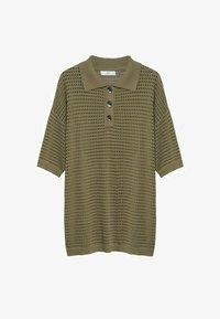 Mango - Polo shirt - khaki - 6