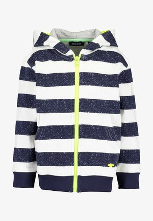 SAVE THE SEA - Zip-up hoodie - nachtblau aop