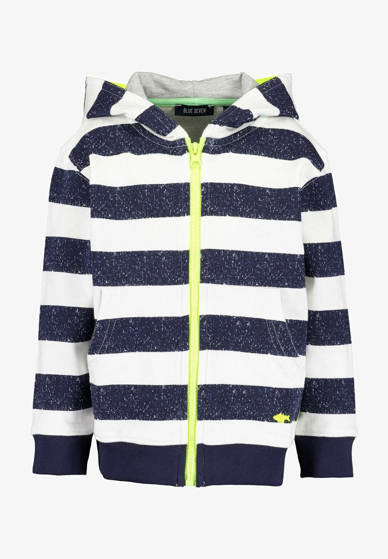 Blue Seven - SAVE THE SEA - Zip-up hoodie - nachtblau aop