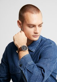 Topman - Watch - brown - 0