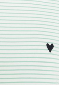 TOM TAILOR - STRIPE BOAT NECK - Long sleeved top - white/green - 2