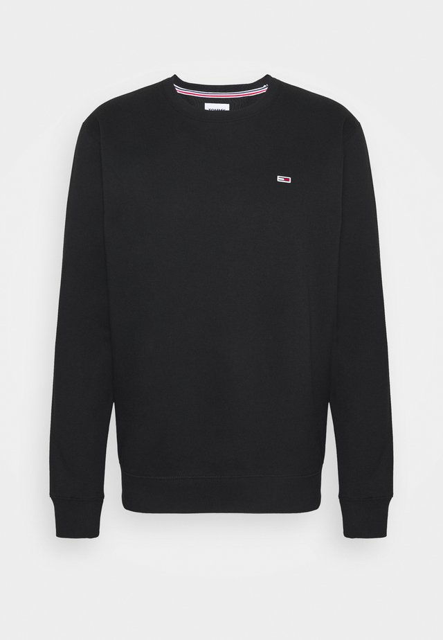 REGULAR C NECK - Sweatshirts - black