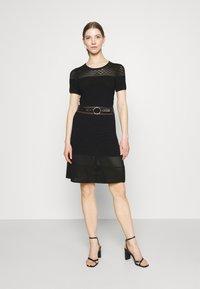 Morgan - RMVEGA - Jumper dress - noir - 0