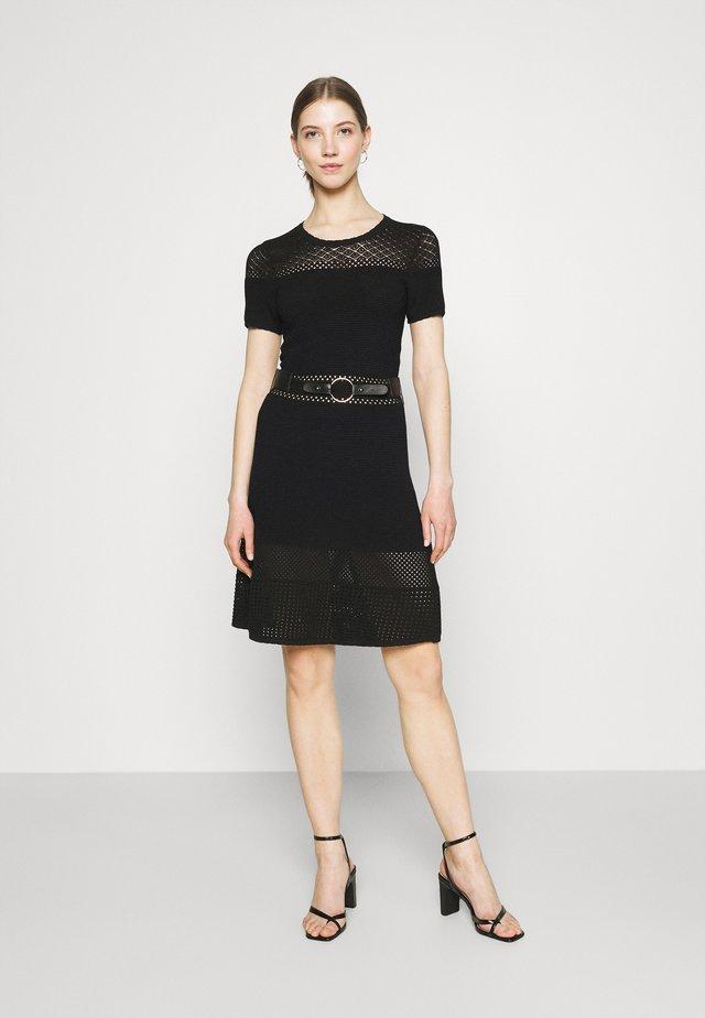 RMVEGA - Gebreide jurk - noir